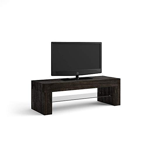 Mobili Fiver, Evolution Meuble TV, Mélaminé, chêne Marron, 112 x 40 x 36 cm