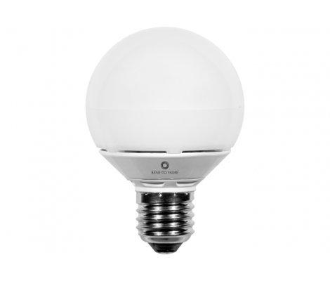 MICRO GLOBO 6W E27 220V 360º LED de Beneito Faure - Blanco cálido, E