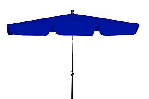 GoodSun Sonnenschirm, Rechteckschirm FL ca. 180x120cm/4tlg. D. 810 dunkelblau