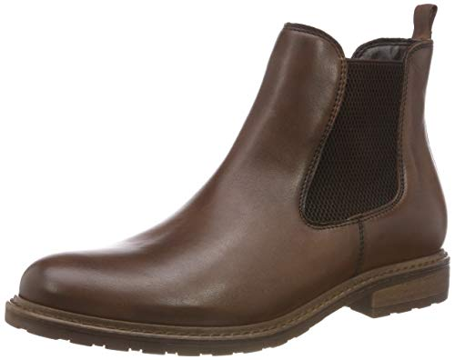 Tamaris Damen 25056-21 Chelsea Boots, Braun (Muscat Leather 356), 39 EU