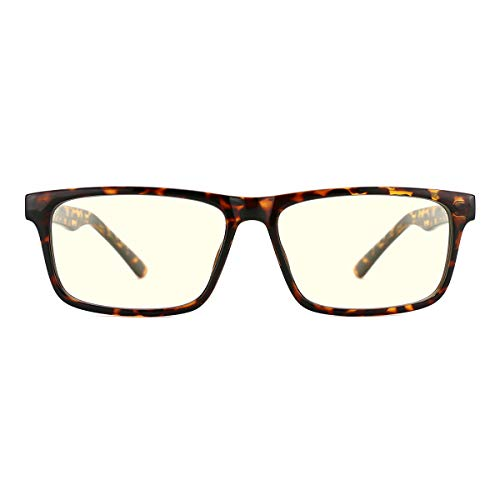 TIJN Lesebrille Blaulichtfilter Gaming Brille Brille Ohne Sehstärke hHerren Computerspiele für pc Lesebrillen Herren Damen 1,5 2,0 2,5