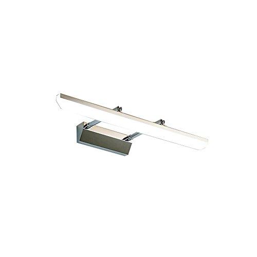 TCFHZJD Versenkbares, wasserdichtes und beschlagfreies Objektiv mit Scheinwerferlampe: Acryl-Lampenschirm + Edelstahl für alle Schlafzimmer, Arbeitszimmer, Badezimmer (Size : 3)