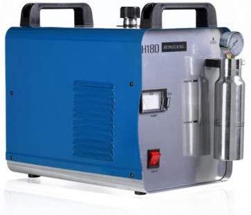 TYZXR Máquina de Pulido de Llama de hidrógeno y oxígeno Generador de...