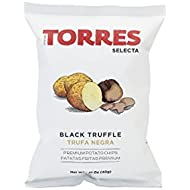 Torres Selecta Spanish Black Truffle Potato Crisps, 40 g