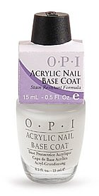OPI Nail Treatments Base Coat Acrylic Nail 15 ml