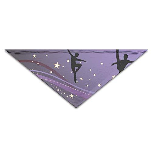 Gxdchfj Hundebandana-Schal-Dreieck-Schellfisch-klassisches Tanz-Kopftuch, Katzen-Geburtstags-Zusätze (Redskins Kostüm)