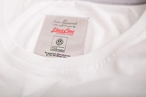 Bulli Face Classic VW Bulli Damen T-Shirt weiß/lila Weiß