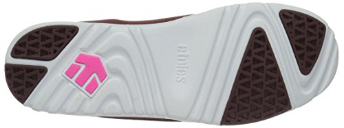 Etnies Scout Yb W's, Chaussures de Skateboard Femme Rot (602 , BURGUNDY)