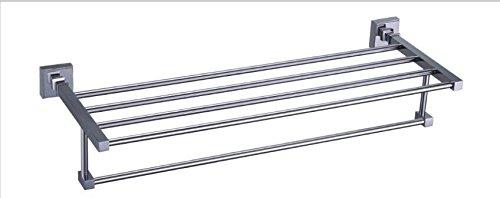JinRou Carattere unico design Tutti i rame fissato asciugamano rack piedistallo tubo portasciugamani