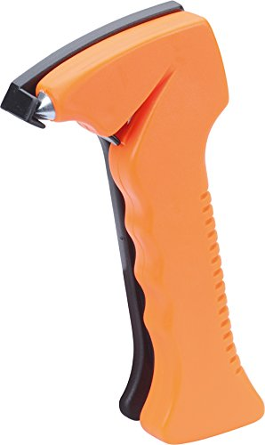 HR-imotion 12410101 Marteau d'urgence avec Coupe-Ceinture, Orange