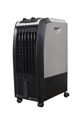 Sameer i-Flo Portable Tower Desert Air Cooler/Blower, Black Grey