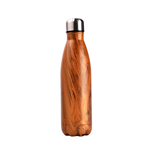 Chilies Wasserflasche Edelstahl Thermos Bowling Sportbecher Unisex Persönlichkeit Trend Kreative Große Kapazität Auto Tasse Isolierung und kalte Präzision Korrektur Cup Geeignet für Outdoor Tourismus