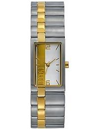 Mango A68204B4I 461901 - Reloj para mujeres, correa de acero inoxidable color plateado