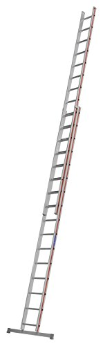 HYMER 404632 Schiebeleiter zweiteilig, 2x16 Sprossen