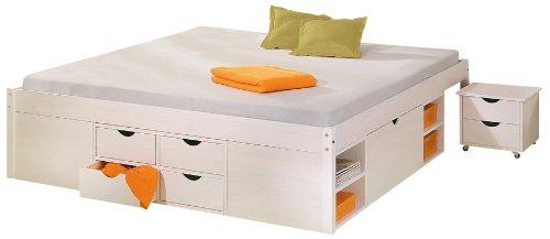 jugendbett weiss gebraucht kaufen nur 3 st bis 60. Black Bedroom Furniture Sets. Home Design Ideas