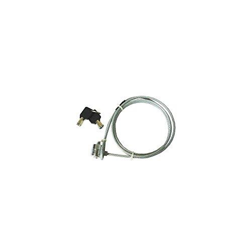 Câble de Sécurité à Câble Métallique Avec serrure à Clé Pour PC Portable (Longueur: 1.2m) (Security Notebook 1 Lock Cable)