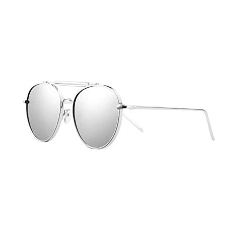 JFFFFWI Polarisierte Sonnenbrille hd Brille klarheit brillenfassungen Legierung Sandstrand Urlaub männer Frau Liebhaber (Farbe: t3)