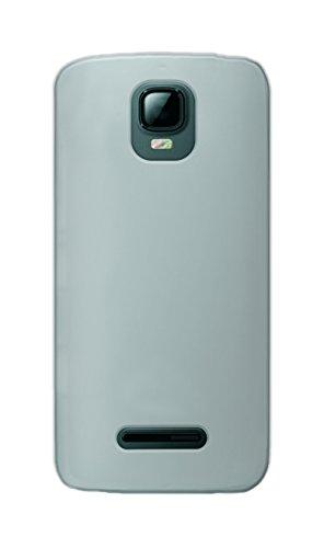Phonix KA345GPW Gel Protection Plus Schutzhülle mit Bildschirmschutzfolie für Kazam Th&er 345 durchsichtiges weiß