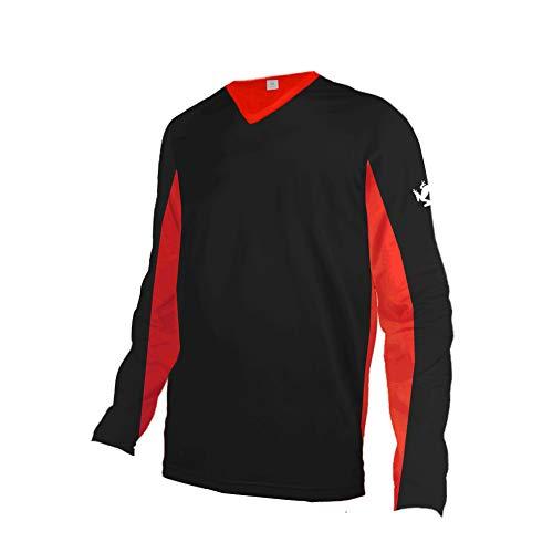 Uglyfrog MTB Jersey Outdoor Ciclismo Sportivo Equitazione Camicia a Manica Corta/Maniche Lunghe Fuoristrada Servizio di Moto a Maniche Lunghe T-Shirt Downhill Tuta Sportiva off-Road Uomo Estat
