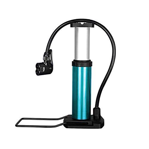 Mini MTB Bike Tragbare Pumpe Elektro-Mobile Motorrad 120 PSI Hochdruckfußpumpe mit Manometer Haushalts Ultra-Light Fahrradreifen Zubehörteil