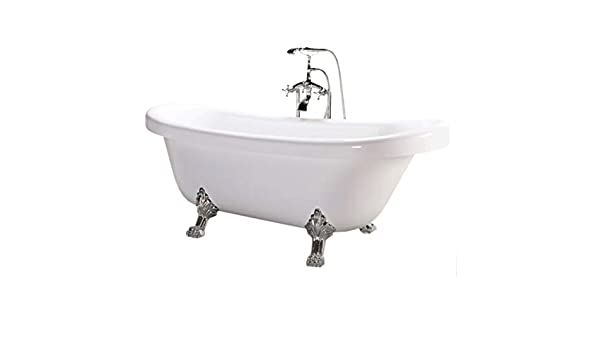 Vasca Da Bagno Con Zampe Di Leone : Vasca da bagno con piedi di aquila chelsea cm colore di