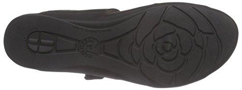 Mephisto Prudy Bucksoft 6900 Black, sandales ouvertes femme Noir (Black)