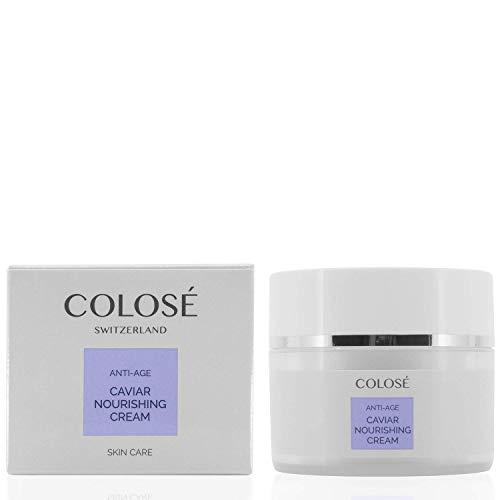 Colosé 24 H Caviar Nourishing Cream/Antifalten Gesichtscreme für trockene Haut/Gesichtspflege mit...