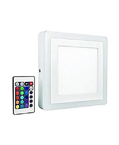 farbwechsel deckenleuchte Osram LED Wand- und Deckenleuchte, Leuchte für Innenanwendungen, Warmweiß, 198,0 mm x 198,0 mm x 38,0 mm, LED Color und White