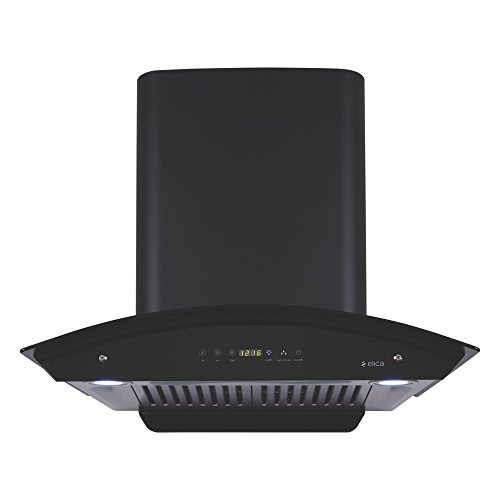 Elica 60 cm 1200 m3/hr Auto Clean Chimney with Free Installation Kit (WD HAC TOUCH BF 60, 2 Baffle Filters,...
