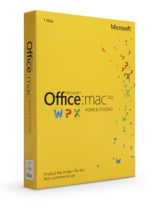 Microsoft Office for Mac Home and Student 2011 - Lizenz - 1...