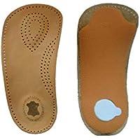 SturdyFoot 3/4 Kunstleder Fußbett Senkfußeinlage Einlegesohle - Metatarsale Pad preisvergleich bei billige-tabletten.eu