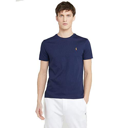 Ralph Lauren T-Shirt Interlook Custom Fit (XXL, French Navy)