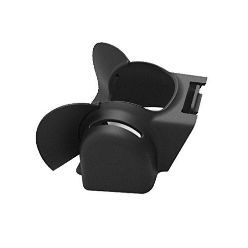 Hunpta PGY Objektiv Blendung Sonnenbrille Anti Flare Schirm Schutz für DJI Mavic Pro Gimbal (Schwarz)