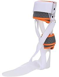 Soporte para la caída del pie - 6 tipos de protección para la ortesis de caída del pie Corrección de férula Férula Corrector de tobillo Soporte(S IZQUIERDA)