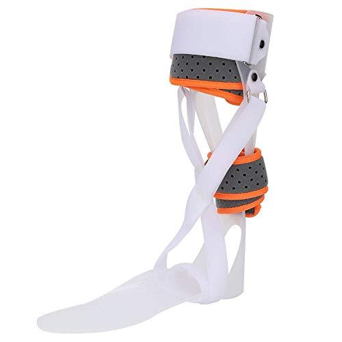 Knöchel Fußorthese Unterstützung-Drop Fuß Unterstützung Schiene,Kompression für die Wiederherstellung von Verletzungen,Gelenkschmerzen und mehr atmungsaktive Fuß Drop Orthese Sprunggelenkstütze(# 5) -