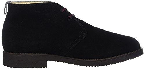 Pollini Mens M.ankle Boot Desert Black (nero)