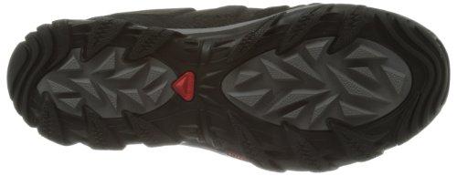 SALOMON Elbrus WP 108751, Scarpe da trekking uomo (- BLACK / BLACK / DETROIT)