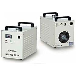Industrial refroidisseur d'eau froide 40W 50W 60W 80W Tube de CO2Laser Graveur Cw-3000ag