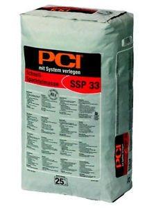 PCI SSP 33 SCHNELL-SPACHTELMASSE Schnellspachtel 25kg