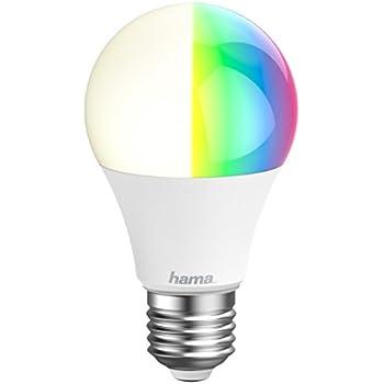 Hama E27 Wi-Fi LED-Lampe, 10W (ohne Hub, dimmbar, gesteuert via ...
