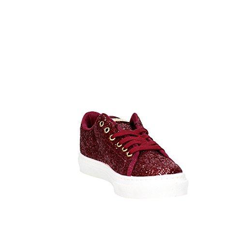GUESS sneakers donna bordeaux glitter AF379 Bordeaux