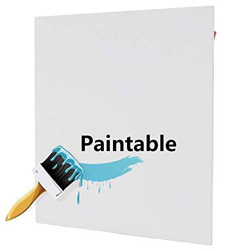 600W pared eléctrico montado panel calefactor radiador, puede pintar blanca creamic de superficie...