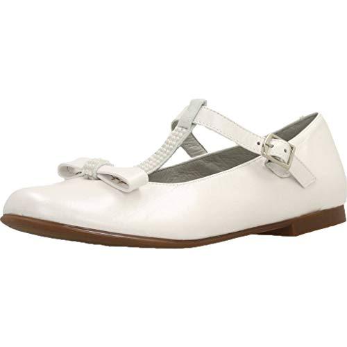 Landos Zapatos Ceremonia Ninas 20AE207 para Niñas Blanco 37 EU