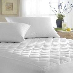 Clasiko Premium Waterproof Dustproof Hypoallergenic Mattress Protector - King Size 72x78 Inches, White