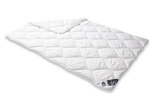Badenia 4006474141184 Bettcomfort Steppbett Irisette Edition leicht, 155 x 220 cm,Weiß