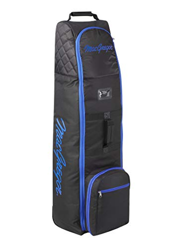 MacGregor VIP Trolley da Golf Travel Cover, Unisex, MACTC003SD, Black/Royal Blue, Taglia Unica