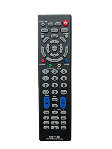 Home Theater Universal Remote Works With Ricardo Mack Takai John