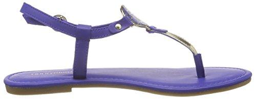 Tommy Hilfiger J1285ENNIFER 10C, Damen Zehentrenner, Blau (BLUE TOPAZ 451), 37 EU -