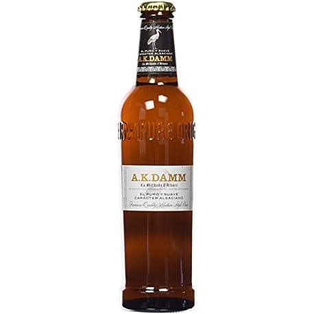 A K Damm Cerveza Botella de 330 ml 1 unidad