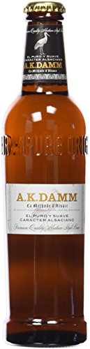 A.K. Damm Rubia Lager Cerveza - 330 ml
